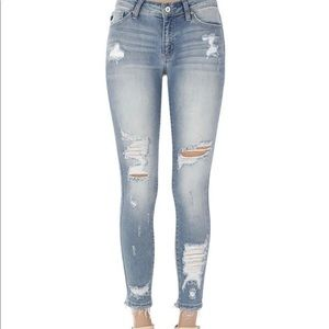 Kancan Jeans (distressed / light wash)